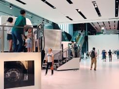 ■2017年に開館した「いすゞプラザ」