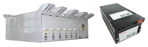 ■ より安全なSCiB™を適用した非常走行用電源装置