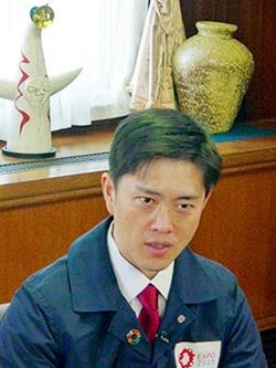 大阪・関西万博に向けた決意を語る吉村洋文知事