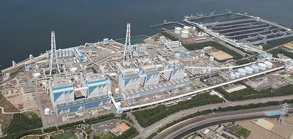 """石炭火力発電設備の実機を使ったアンモニア混焼実験の候補地であるJERAの碧南火力発電所<br><span class=""""fontSizeS"""">(写真:JERA)</span>"""