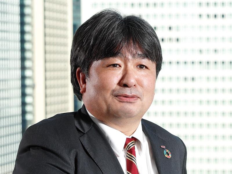 アズビル・濱田常務「ボトムアップでもSDGsを推進」