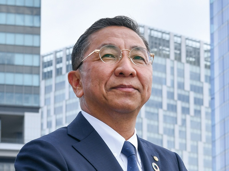 東急建設・寺田光宏社長「カーボンゼロ、廃棄物ゼロに挑む」