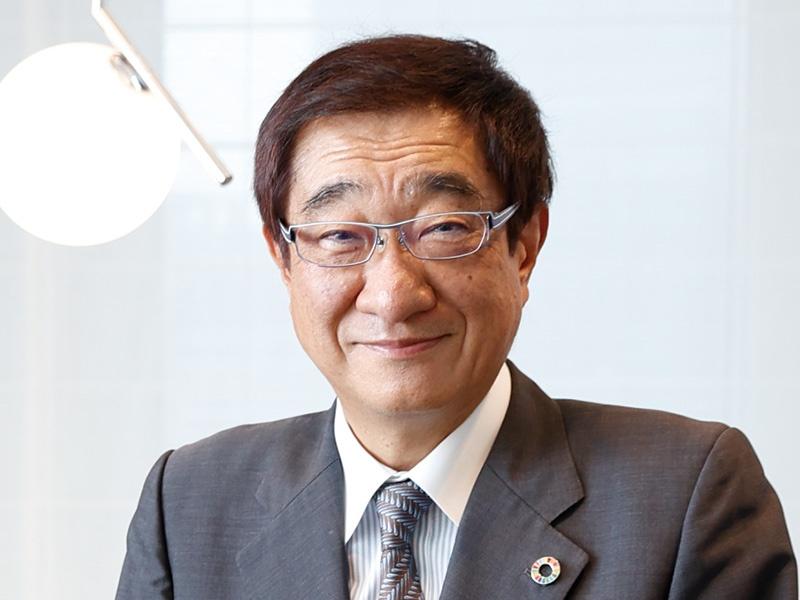中外製薬・上野幹夫副会長「ESG経営で世界のロールモデルに」