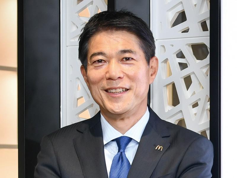 日本マクドナルドホールディングス日色保社長、「おいしさと笑顔」を提供し、地域に貢献