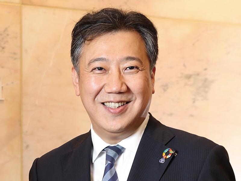 三和ホールディングス・高山靖司社長「PDCAサイクルでESG経営を推進する」