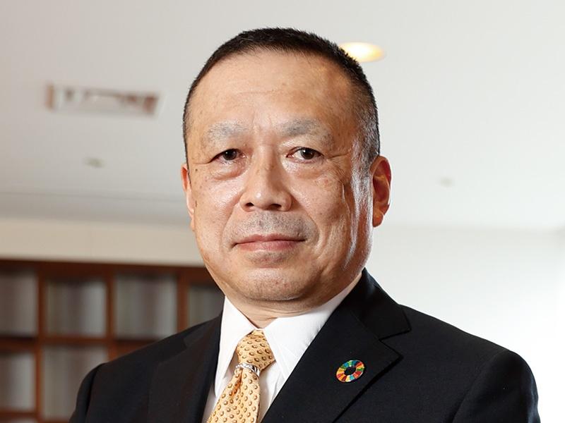 帝人・小山俊也常務「環境素材で脱炭素に貢献」
