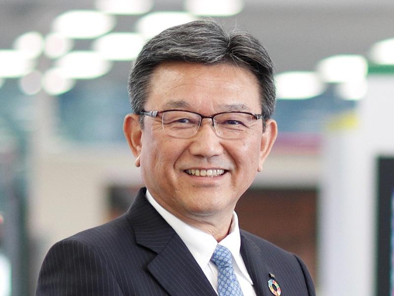 沖電気工業・鎌上社長「『AIエッジ』で社会に安心を提供」