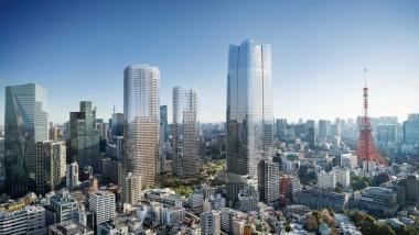 ■ 2023年完成予定の「虎ノ門・麻布台プロジェクト」完成イメージとエリアマップ