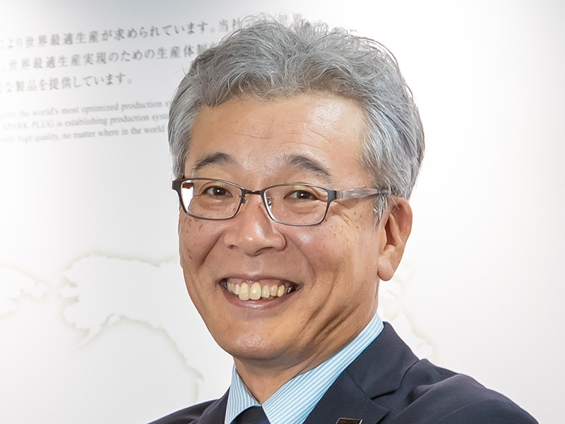 日本特殊陶業・川合社長「セラミックスの領域を超えた挑戦」
