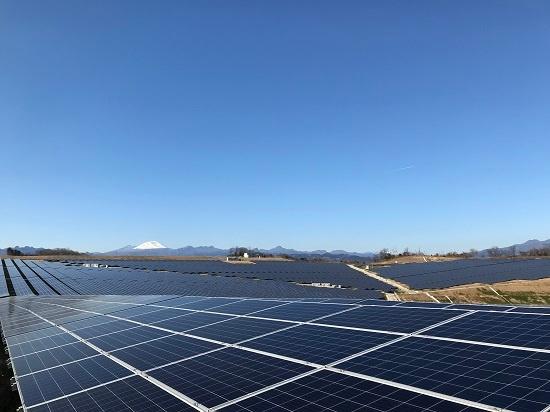 東京ガスが2020年2月に買収した群馬県の安中市太陽光発電所。6万3200kWと関東地方最大規模の出力を持つ(写真:東京ガス)