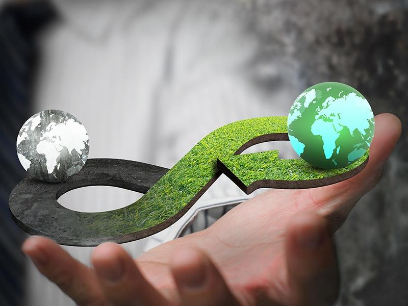 「サーキュラー素材」で資源の無駄を徹底排除