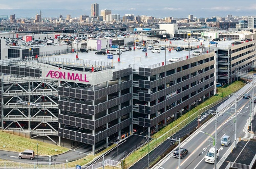 Making active use of renewable energy at stores and office buildings