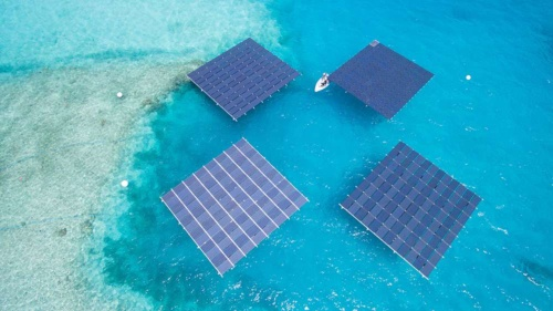 Group firm Daiwa Energy & Infrastructure Co. Ltd. has invested in a marine solar power installation in the Maldives, and other projects
