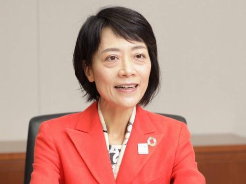 Junko Nakagawa, President and CEO