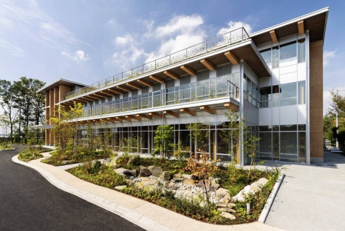 New research building at the Tsukuba Research Institute