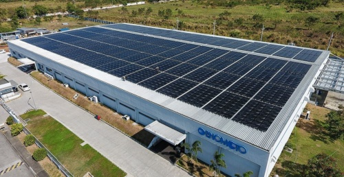 Slashing CO2 emissions by constructing a solar power plant in the southern Philippines, supplying an automatic parts manufacturing plant