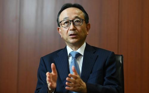 Hironori Kamezawa, President & Group CEO