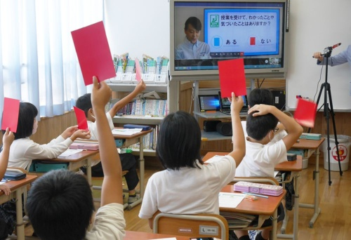 Programs to teach elementary school students about nature continue, remote classes were held in 2020