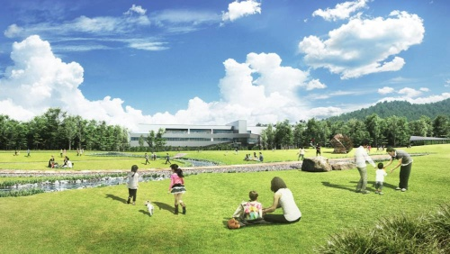 Suntory Kita-Alps Shinano-no-Mori Water Plant in Nagano Prefecture, Japan, started operation this spring as the first zero-carbon plant in the Group