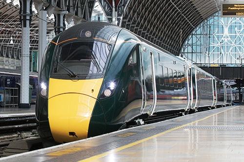 """日立製作所の英国都市間高速鉄道計画向け車両<br><span class=""""fontSizeS"""">(写真提供:日立製作所)</span>"""