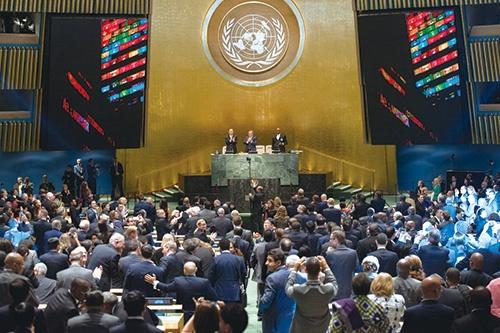 国連は2015年9月、SDGs(持続可能な開発目標)を採択した<br>写真:UN Photo/Cia pak