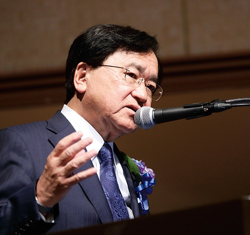 三菱ケミカルホールディングス会長 経済同友会代表幹事 小林 喜光 氏<br>写真/鈴木愛子