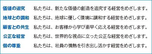 ■ 5つの経営姿勢