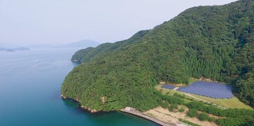 ■ 福井県小浜市に設置された仏谷太陽光発電所