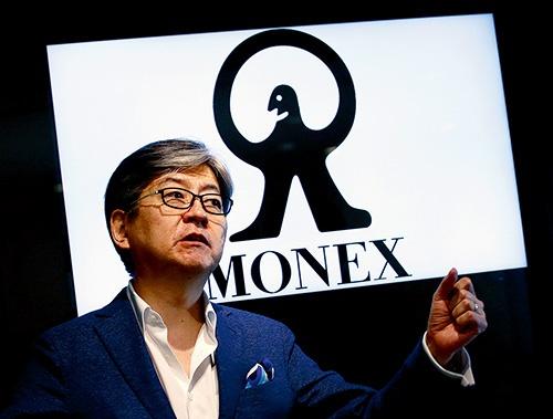 """マネックスグループの松本大社長が、エンゲージメントをリードする。同社グループのカタリスト投資顧問が、投資戦略を立案する<br><span class=""""fontSizeS"""">(写真:ロイター/アフロ)</span>"""
