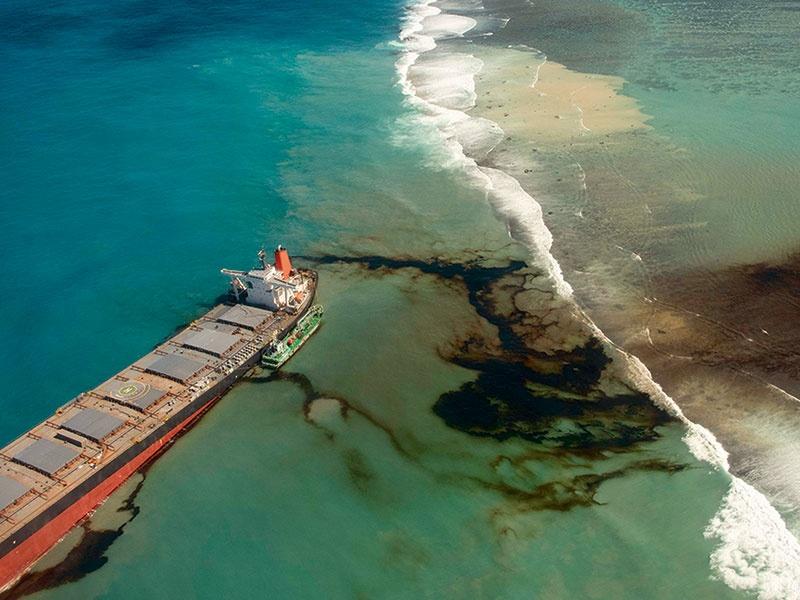モーリシャス沖の油流出事故