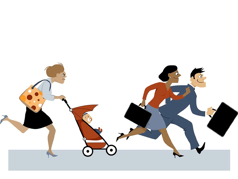 「誰もが階段を上る」キャリアが女性の社会進出を拒んでいる