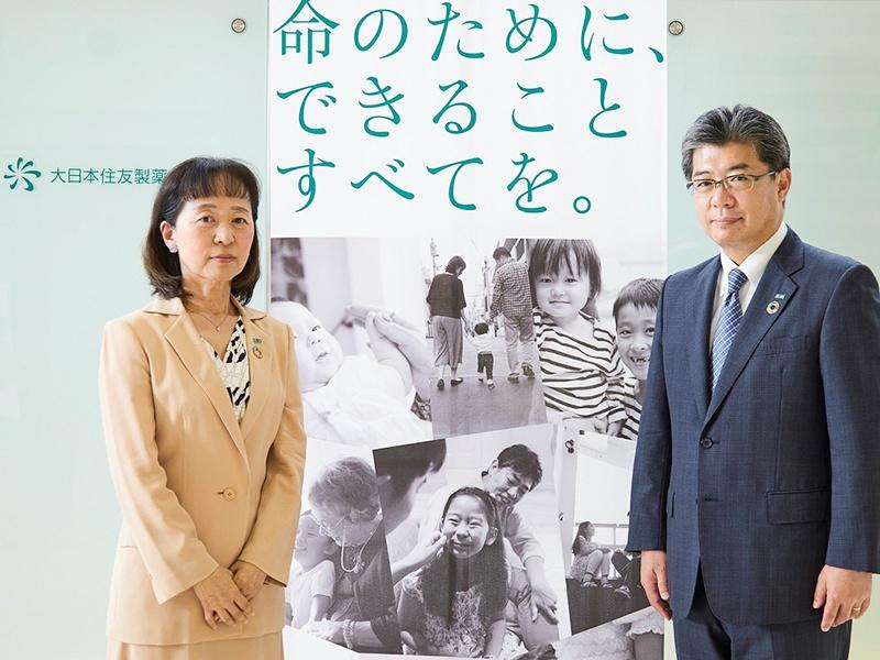 タレントマネジメントで成果創出要因を分析―大日本住友製薬