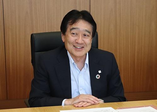 協和エクシオ代表取締役社長 舩橋哲也<br/>1982年横浜国立大学大学院修了、日本電信電話公社(現NTT)入社。2010年NTTコミュニケーションズ取締役カスタマサービス部長、2014年同社副社長に就任。2018年協和エクシオ代表取締役副社長。2019年6月、現職に就任。(写真提供:協和エクシオ)