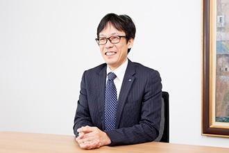 第1営業本部第1事業部長の松井章記さん
