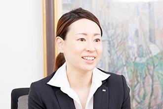 開発戦略室課長の早瀬裕子さん