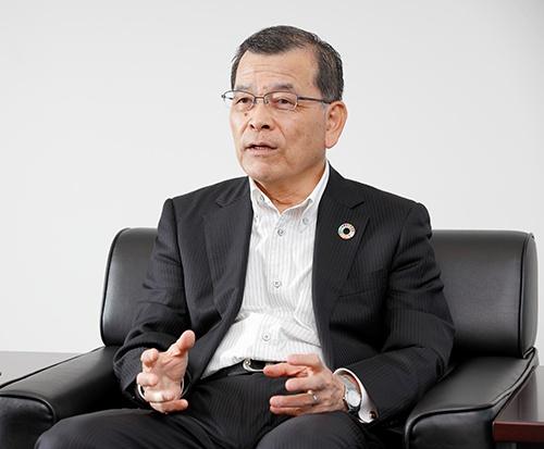 フォスター電機 代表取締役社長 吉澤博三氏(撮影:山田慎二)