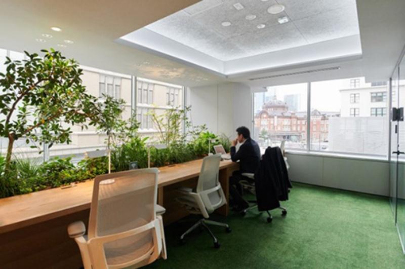 未来のオフィス空間創出へ 異業種協業で実証実験スタート「point 0 marunouchi」(1)
