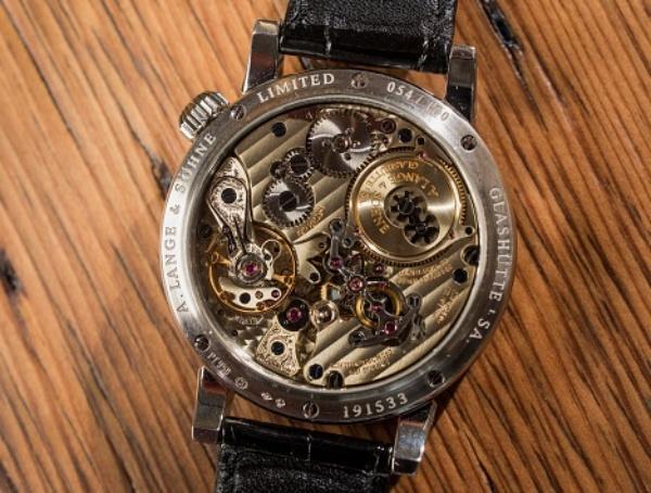 Lange & Sohne社の機械式腕時計
