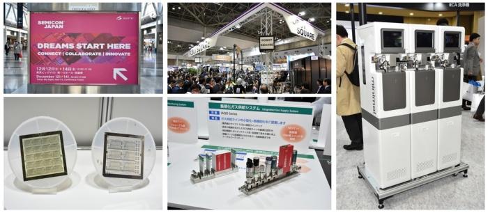 図1 半導体産業の日本のサプライチェーンを支える企業が集結