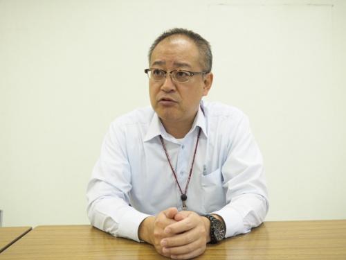 八千代市 総務部 庁舎整備課 主幹 井手潤一氏(写真:日経BP総研)
