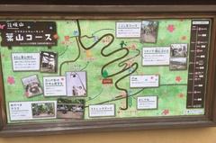 現地にはコースを説明する掲示もあり、観光客のような初めての人でもウォーキングを楽しめる手助けをしている(写真:編集部)