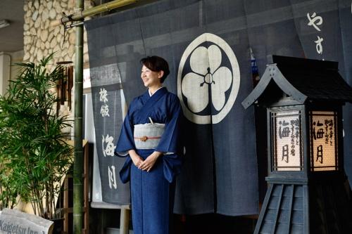 実家は明治から続く老舗旅館。23歳で女将を継いだ(写真:大槻純一)