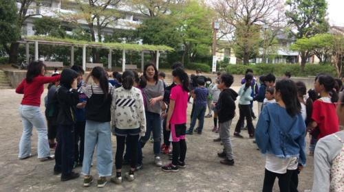 「おもいっきり遊び隊」の活動の様子(写真:高井 譲)