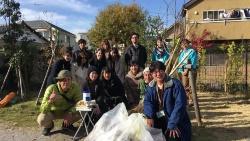 プロジェクト「ひばり日和。」では最後に清掃活動を実施した(写真:高井 譲)