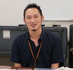 (写真1)糸島市企画部地域振興課主幹の千代反田崇氏(写真:元田光一)