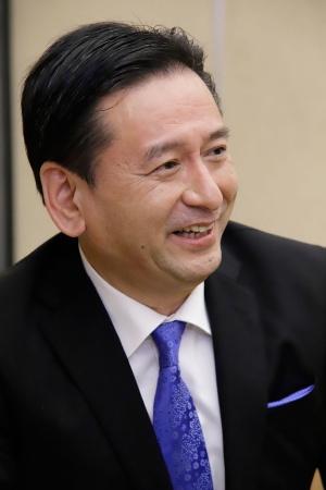 佐賀県知事の山口祥義氏(写真:菅敏一)