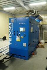 スマートウェルネスタウンにエネルギーを供給するガスエンジン・コージェネ設備(写真:日経BP)