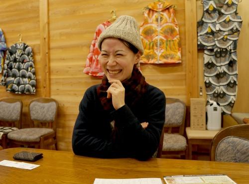 ゼロ・ウェイストアカデミーの坂野晶理事長(写真:日経BP総研)