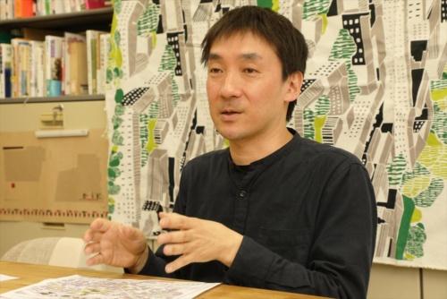 首都大学東京教授の饗庭伸氏(写真:都築雅人)