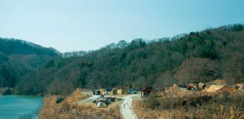 大阪の中心部から車で40分で行ける「スノーピーク箕面」キャンプ場(写真:スノーピーク)